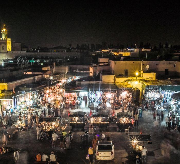 Djema El Fna, Marrakech